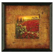 Red Poppies I by Patricia Pinto Framed Painting Print