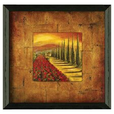 Red Poppies II by Patricia Pinto Framed Painting Print