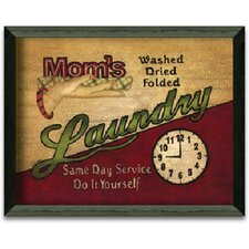 Mom's Laundry by Linda Spivey Framed Graphic Art