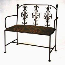 Gothic Loveseat Entryway Bench
