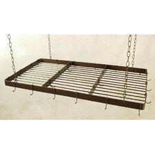 Butcher Hanging Pot Rack with Grid