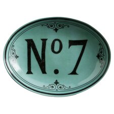 Voyage No. 7 Small Oval Serving Tray