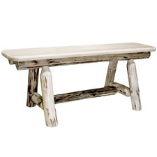 Montana Wood Plank Style Kitchen Bench
