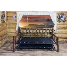 Glacier Country Daybed Frame with Trundle