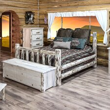 Montana Panel Bed