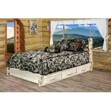 Montana Storage Platform Bed