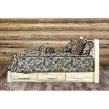 Homestead Storage Platform Bed