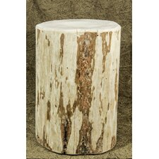 Montana Cowboy Stump End Table