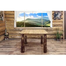 Glacier Country 4 Post Square Dining Table