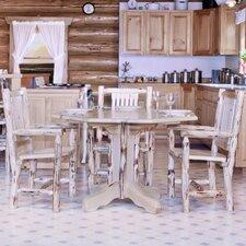 Montana Table Center Pedestal Dining Table