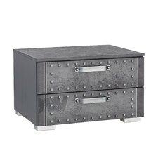 Nachttisch Workbase mit 2 Schubladen