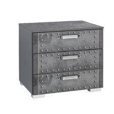 Nachttisch Workbase mit 3 Schubladen