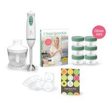 11 Piece Homemade Essentials Package Glass Jar Set