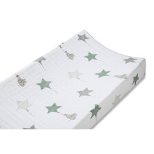 Classic Up Up and Away Elephant Changing Pad Cover