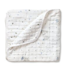 Night Sky Dream Cotton Blanket
