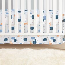 Into the Woods Organic Crib Skirt
