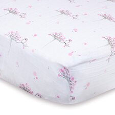 For the Birds Classic Fitted Crib Sheet