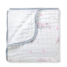 For the Birds Owl Dream Cotton Blanket