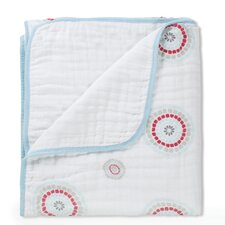 Liam the Brave Medallion Dream Cotton Blanket