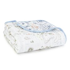 Organic Dream Cotton Muslin Throw Blanket