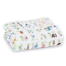 Classic Dream Cotton Muslin Throw Blanket