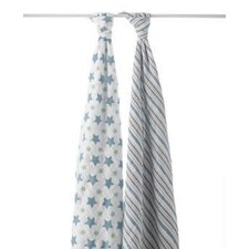 Prince Charming 2 Piece Swaddle Blankets