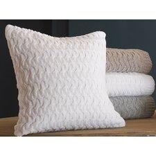 Majorca Squiggle Cotton Throw Pillow