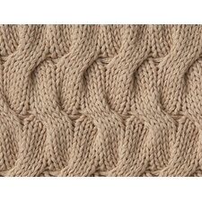 Majorca Squiggle Cable Cotton Throw