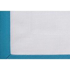 Pique Scalloped Cotton Coverlet