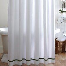 Tailored Pique Cotton Shower Curtain