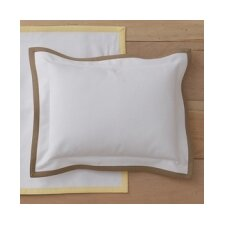 Pique Tailored Cotton Boudoir/Breakfast Pillow
