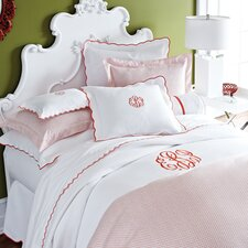 Scalloped Pique Bedding Collection