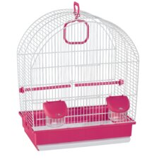 Rosie Bird Cage in White
