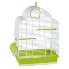 Alicia Bird Cage in White