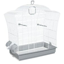 Bird Cage in White I
