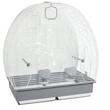 Bird Cage in White V