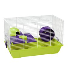 Hamster Cage in White