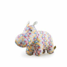 Hippo and Cube Party Book End