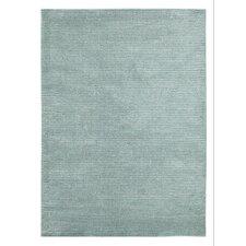 Handgewebter Teppich Conran in Blau
