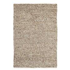 Handgewebter Teppich Savannah in Taupe