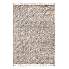 Handgewebter Teppich Murray in Grau