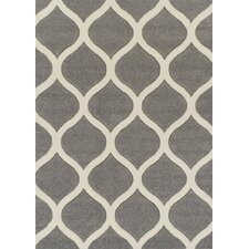 Viva Grey/Cream Area Rug