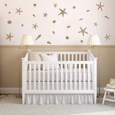 27 Piece Seashells Wall Decal Set
