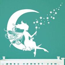 Moon Fairy Wall Decal