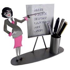 Teacher Female Pen Holder
