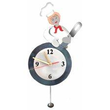 Chef  Pendulum Clock