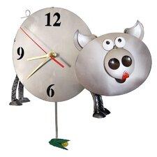 Pig Pendulum Clock