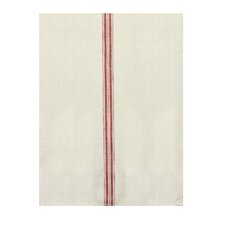 Downstairs Kitchen Tea Towel with Stripes (Set of 2)