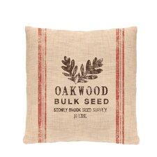 Seed Labels Oakwood Pillow