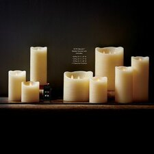Voila 15 Piece Flameless Pillar Candle Set